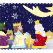 Three kings - Stock Vector