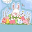 Easter bunny — Stock Vector #2414158