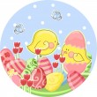 Easter card — Stock Vector #2414199