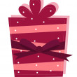 Isolated gift — Stock Vector