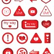 Royalty-Free Stock Vector Image: Love signs