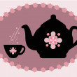 Teapot - Image vectorielle