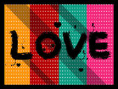 Love background — Stockvector