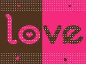 爱点的背景 — 图库矢量图片
