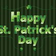 Happy St. Patrick&#039;s Day - Stock Vector