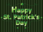 Happy st patrick's day — Stockvektor