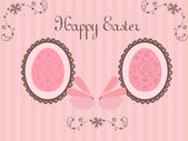 Easter vintage background - horizontal — Stock Vector