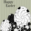 Royalty-Free Stock Vector Image: Vintage easter card