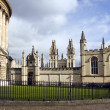 All Souls and Radcliffe Square - Stock Photo