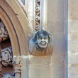 Gargoyle on Merton College Oxford - Stock Photo