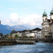 View of Lucerne old town, Switzerland — Stock Photo #2025502