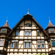 Traditional medieval german house — Foto de Stock