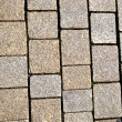 Cobblestone paving texture — Stock Photo