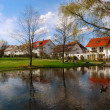 Beautiful park in Stuttgart-Kornwestheim — Stock Photo #2069962