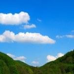 Sky between two hills — Stock Photo #2070166