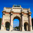 Triumphal Arch, Paris — Stock Photo