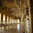 Golden room in Louvre - Stock Photo
