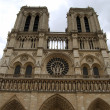 Notre Dame de Paris Cathedral - Stock Photo