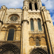 Basilica Saint Denis Tower — Stock Photo