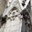 Notre Dame Cathedral gargoyles — Stock Photo