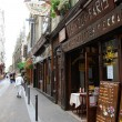 Street of Latin Quarter in Paris — Stock Photo
