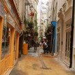 Stock Photo: Latin Quarter of Paris in morning