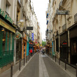 Stock Photo: Street of Latin Quarter (Quartier latin)