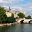 Royalty-Free Stock Photo: Bank of Seine river in Paris
