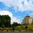 Ludwigsburg palace backyard - Stock Photo