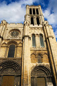 Basilica Saint Denis Tower — Stock Photo
