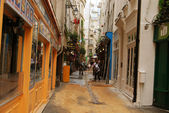 Latin Quarter of Paris in the morning — Stock Photo