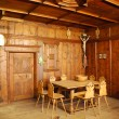Medieval german rooms interior - Stock Photo