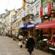 Christmas on the streets of Baden-Baden — Stock Photo