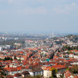 Panoramic view of Stuttgart city centre — Stock Photo #2084421