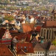 Stuttgart-Esslingen old town centre — Stock Photo
