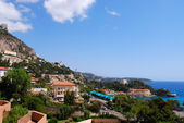 Mediterranean sea coast, Monaco, France — Stock Photo