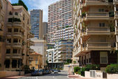 Streets of Monaco downtown — Stock Photo