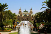 Monte Carlo casino - front view — Stock Photo