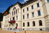 Vaduz town hall, Liechtenstein — Stock Photo