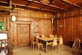 Medieval german rooms interior — Stock Photo