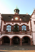Medieval house in Freiburg, Germany — Stock Photo