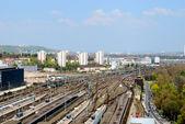 Stuttgart mail railway station — Stock Photo