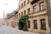 Street in Nuremberg - Fuerth — Stock Photo