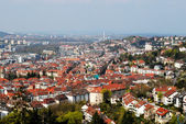 View of Stuttgart city centre — Stock Photo