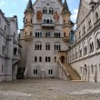 Neuschwanstein castle, inner court — Stock Photo