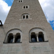 Guard tower of Neuschwanstein castle — Stock Photo