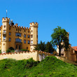Fort near Neuschwanstein castle - Stock Photo