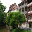 Bamberg - german small Venice - Stock Photo