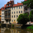 Tranquil cityscape - Bamberg - Stock Photo