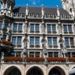 Munich town hall on Marienplatz — Stock Photo